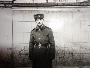 В. В. Залетило в армии
